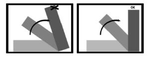 Dimensionering av garderoben