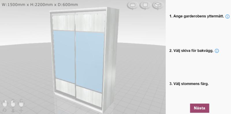 Planera din garderob med ett planeringsverktyg